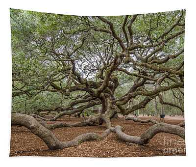 Twisted Limbs Tapestry