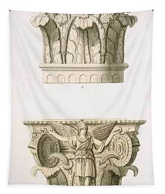 Two Column Capitals Tapestry