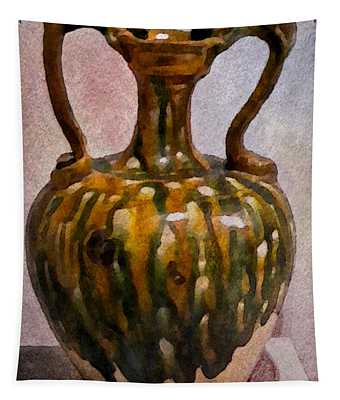 Two Handle Vase Tapestry