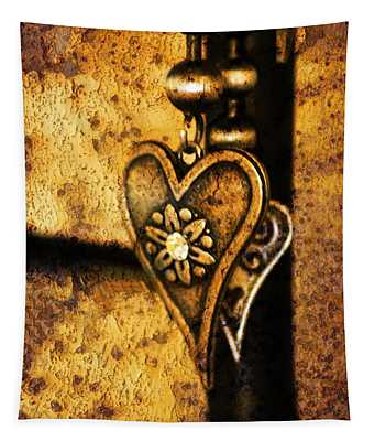 Two Hearts Together Tapestry