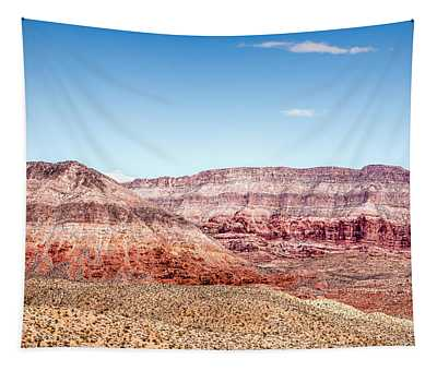 Two Layered Mountains Tapestry