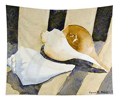Two Shells Tapestry