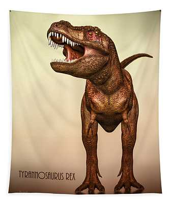 Tyrannosaurus Rex 2 Tapestry