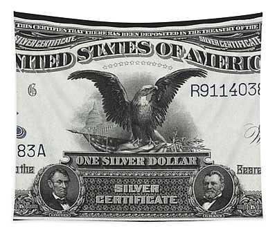 U. S. Silver Certificate 1899 Tapestry