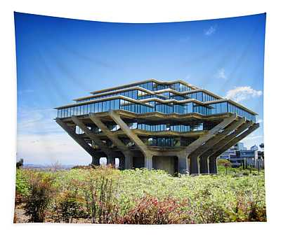 Ucsd Geisel Library Tapestry
