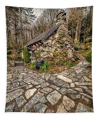 Ugly Cottage Tapestry