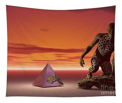 Ultimatum - Surrealism Tapestry