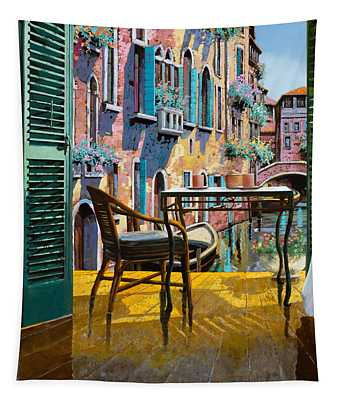 Un Soggiorno A Venezia Tapestry