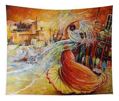 Una Vida Tapestry