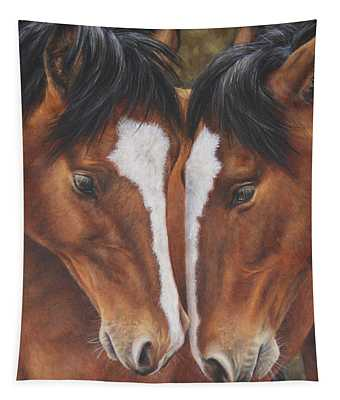 Unbridled Affection Tapestry