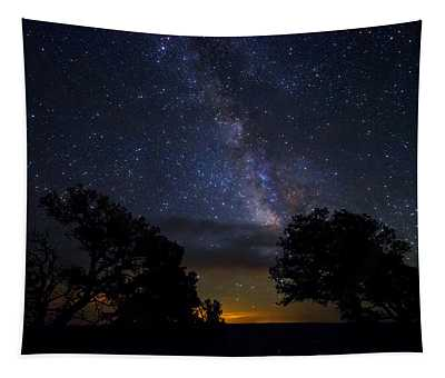 Under The Stars At The Grand Canyon  Tapestry