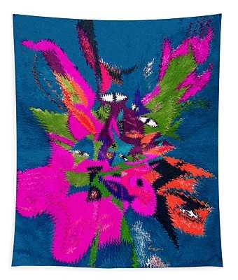 Underwater Feline Tapestry