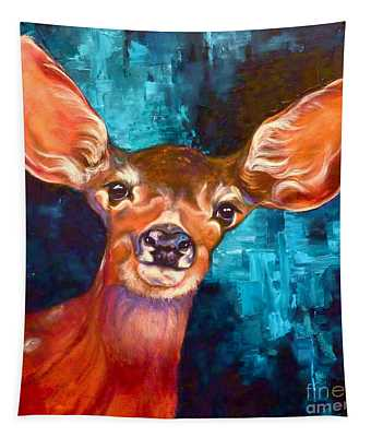 Uniquely Fawn Tapestry