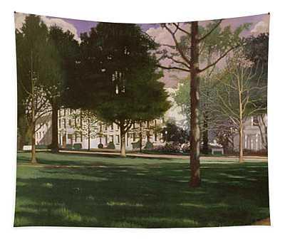 University Of South Carolina Horseshoe 1984 Tapestry