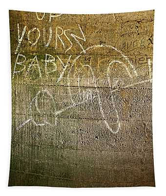 Up Yours Baby Tapestry