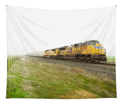 Tapestry featuring the photograph Up8420 by Jim Thompson