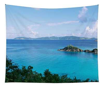 Us Virgin Islands, St. John, Trunk Bay Tapestry
