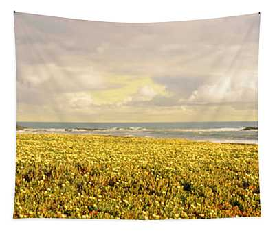 Usa, California, Businessman Standing Tapestry