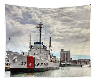 Uscg Cutter Taney Tapestry
