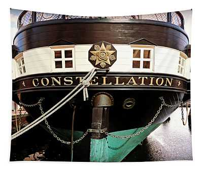 Uss Constellation Tapestry