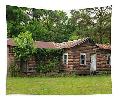 Vacant Rural Home Tapestry
