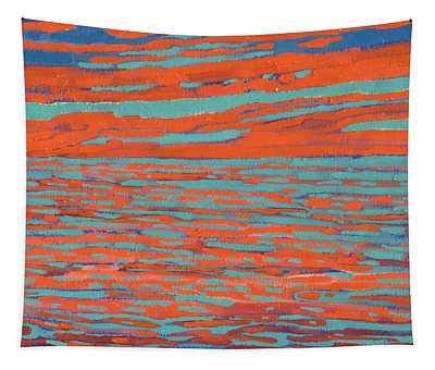 Valdy Sunset Tapestry