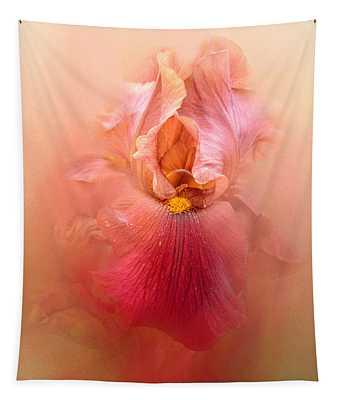 Valentine Iris Tapestry
