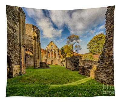 Valle Crucis Abbey Ruins Tapestry