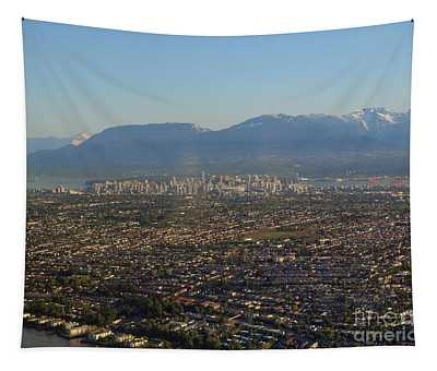 Vancouver At A Glance Tapestry