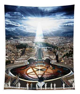 Vatican Rocking View Tapestry