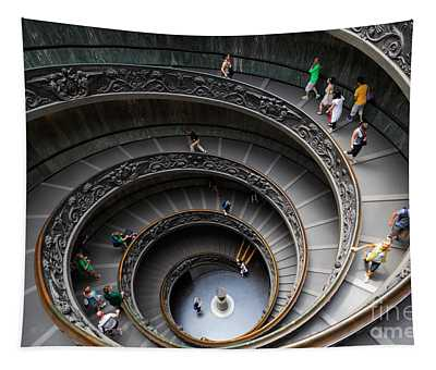Vatican Spiral Staircase Tapestry