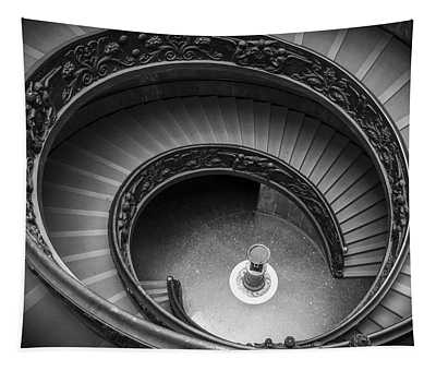 Vatican Stairs Tapestry