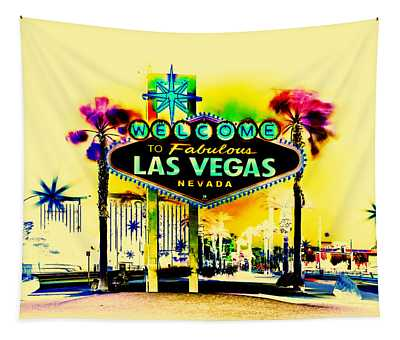 Vegas Weekends Tapestry