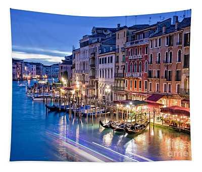 Venetian Blue Tapestry