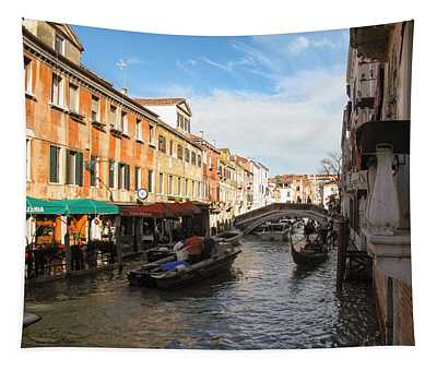 Venetian Canal Tapestry