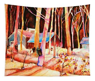 Vermont Maple Syrup Tapestry
