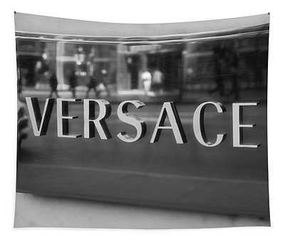 Versace Black And White Tapestry