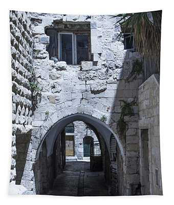 Very Old City Architecture No 1 Tapestry