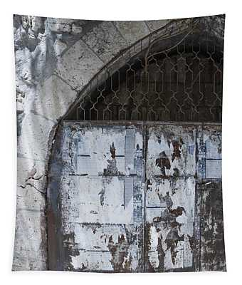 Very Old City Architecture No 3 Tapestry