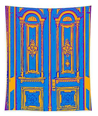 Victoriandoorpopart Tapestry