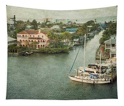 View At Fort Myers Beach - Florida Tapestry