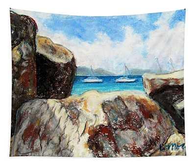 View Of Devil's Bay Tapestry
