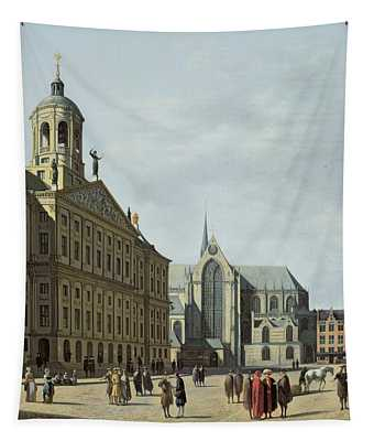 View In Amsterdam, With The Facade Tapestry