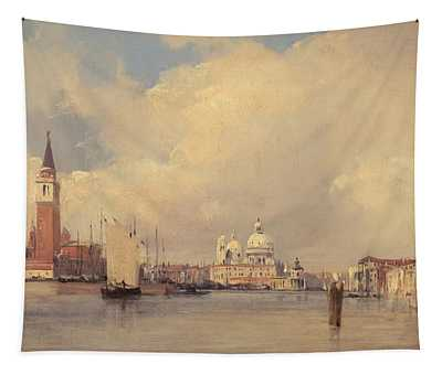 View In Venice Tapestry