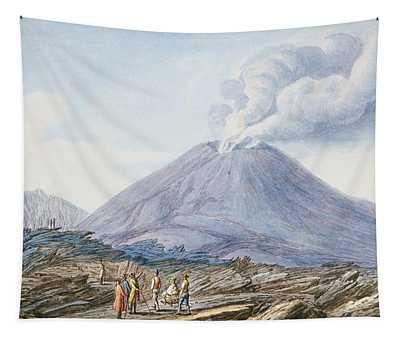 View Of The Atrio Di Cavallo Tapestry