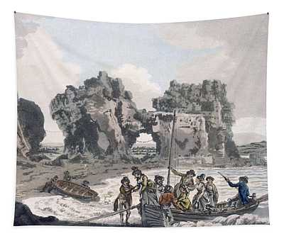 View Of The Castle Rock Tapestry