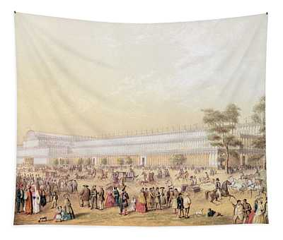 View Of The Crystal Palace Tapestry