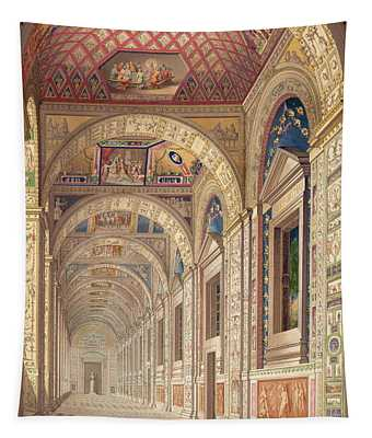 View Of The Second Floor Loggia Tapestry