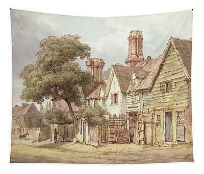 Village Street Tapestry