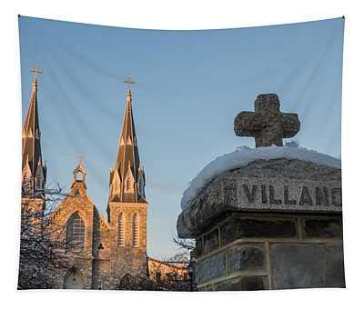 Villanova Wall And Chapel Tapestry